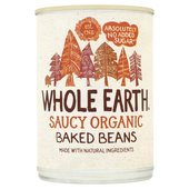 Whole Earth Organic No Added Sugar  Baked Beans