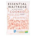 Essential Waitrose Frozen Cooked & Peeled Prawns