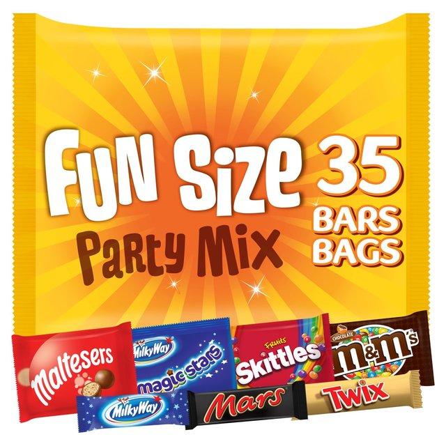 Party Mix Fun Size Multipack   Ocado