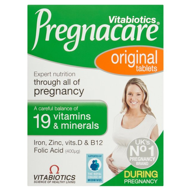 Vitabiotics Pregnacare Vitamin Tablets