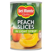 Del Monte Peach Slices in Light Syrup