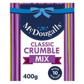 McDougalls Crunchy Crumble Topping