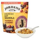 Jordans Crunchy Granola with Raisins & Almonds