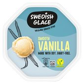 Swedish Glace Non Dairy Frozen Dessert Smooth Vanilla