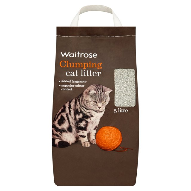 Waitrose Clumping Cat Litter