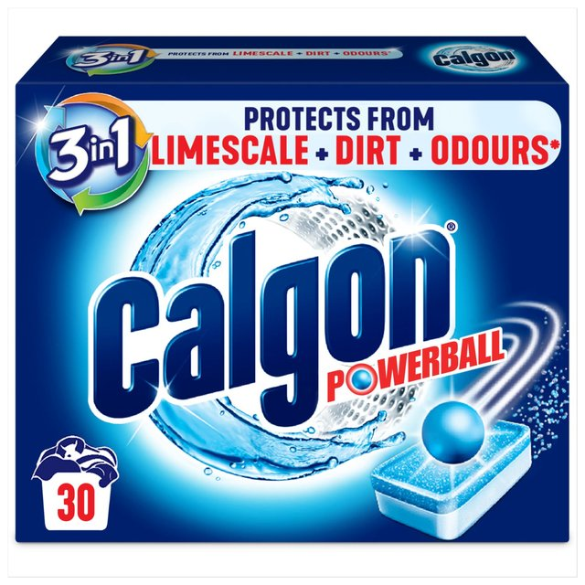 Calgon Tablets Water Softener 30 Per Pack From Ocado