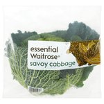 Essential Waitrose Savoy Cabbage