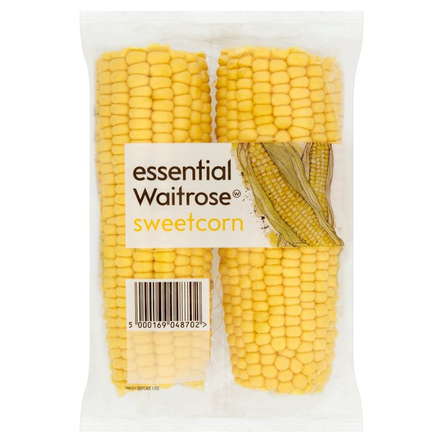 Essential Waitrose Fresh Sweetcorn
