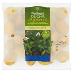 Waitrose Duchy Organic Baby Potatoes