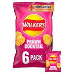 Walkers Prawn Cocktail Crisps 25g x