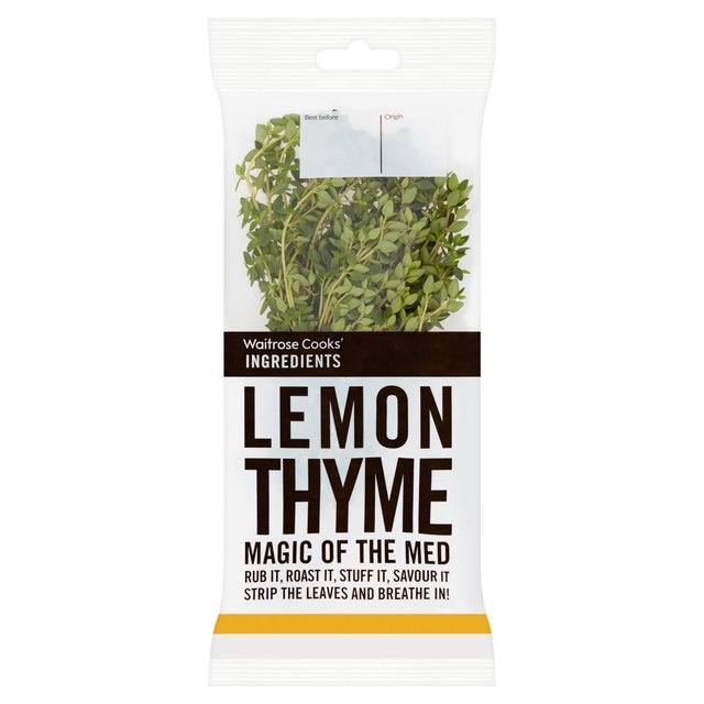 Cooks' Ingredients Lemon Thyme Sprigs Waitrose