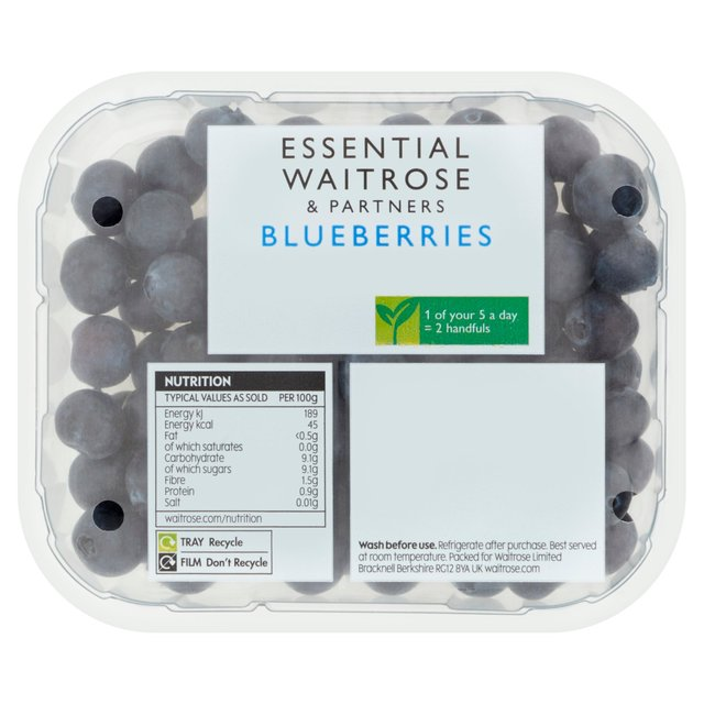 Blueberries essential Waitrose