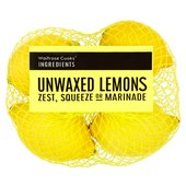 essential Unwaxed Lemons Waitrose