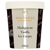 Creamy Madagascan Vanilla Ice Cream Waitrose