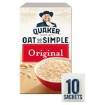Quaker Oat So Simple Original Porridge