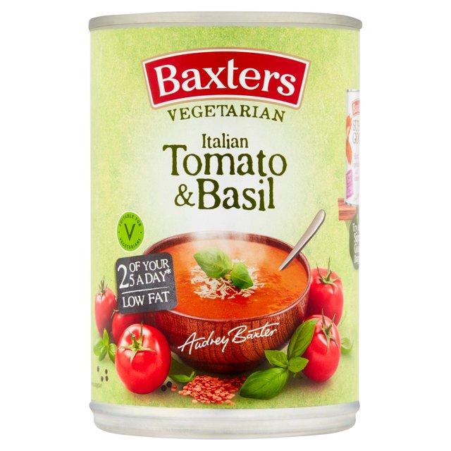 Baxters Vegetarian Italian Tomato & Basil Soup 400g from Ocado