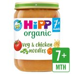 HiPP Organic Vegetables with Noodles & Chicken