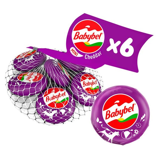 how many calories in babybel cheese