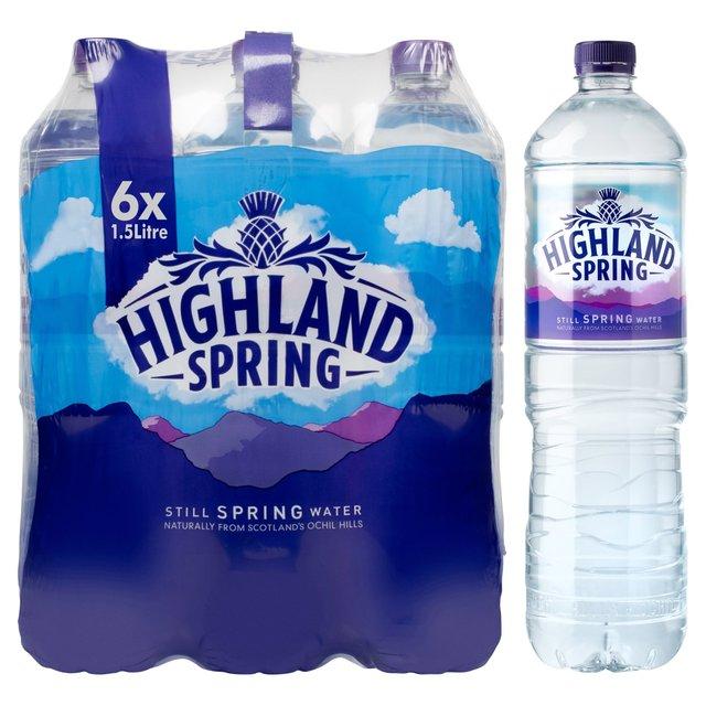 21c56d7d83 Highland Spring Still Spring Water 6 x 1.5L from Ocado