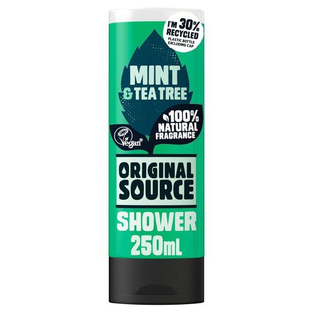 product original source shower black mint