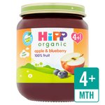 HiPP Organic Apple & Blueberry Dessert