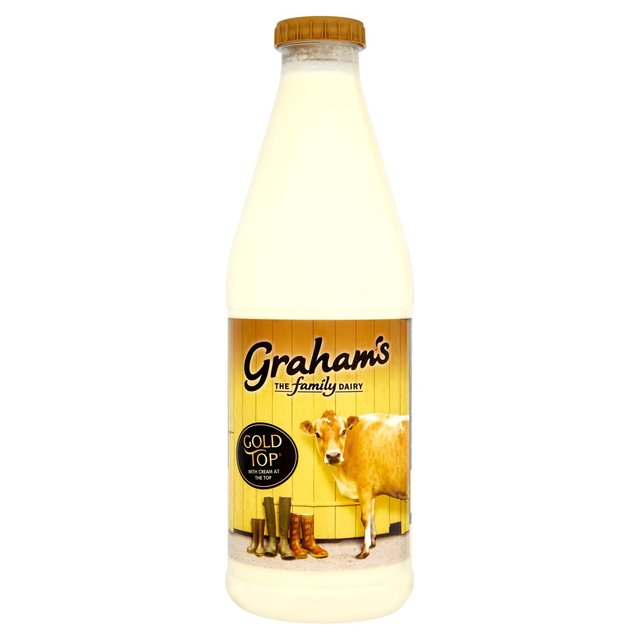 Gold Top Jersey & Guernsey Milk