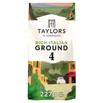 Taylors Rich Italian Dark Roast Ground Coffee