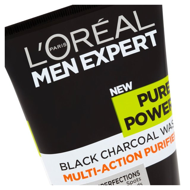 L'Oreal Men Expert Pure Power Charcoal Wash 150ml from Ocado