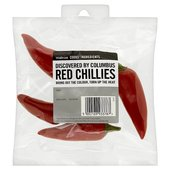 Cooks' Ingredients Red Chillies Waitrose