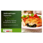Waitrose Goats Cheese & Spinach Slice Frozen