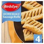 Birds Eye 4 Sausage Rolls Frozen