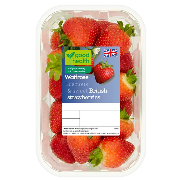 Waitrose Luscious & Sweet Strawberries