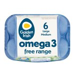 Golden Irish Omega 3 Free Range Eggs Mixed Weight Large/Medium