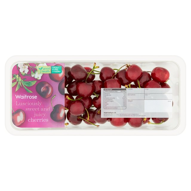 Waitrose Cherries