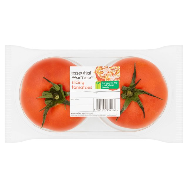 Essential Waitrose Slicing Tomatoes