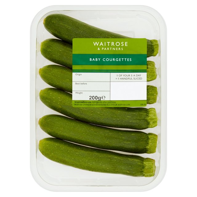 Waitrose 1 Baby Courgettes