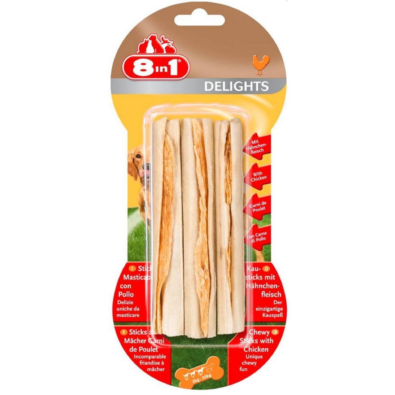 An image of 8 In 1 Products Delights Sticks
