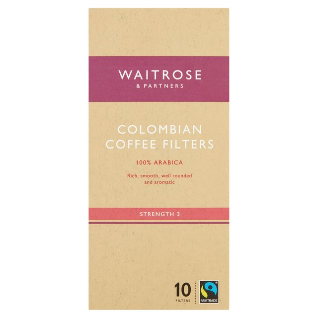 Waitrose Colombian Individual Coffee Filters