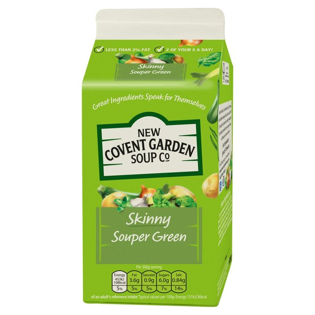 Ocado: New Covent Garden Skinny Souper Greens with Italian Basil Pesto ...