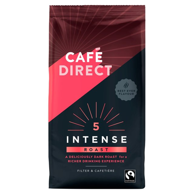 Cafedirect Fairtrade Rich Roast Ground Coffee