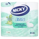 Nicky Elite 3 Ply Quilted Toilet Tissue