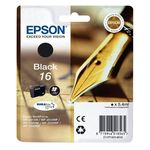 Epson T1621 Black Inkjet Cartridges (Pen & Crosswords)