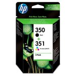 HP 350 351 Ink Cartridge Combo Pack