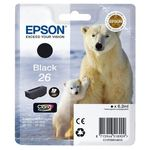 Epson T2601 Black Inkjet Cartridge (Polar Bear)