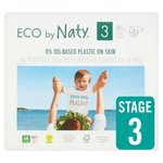 Eco by Naty Nappies Size 3