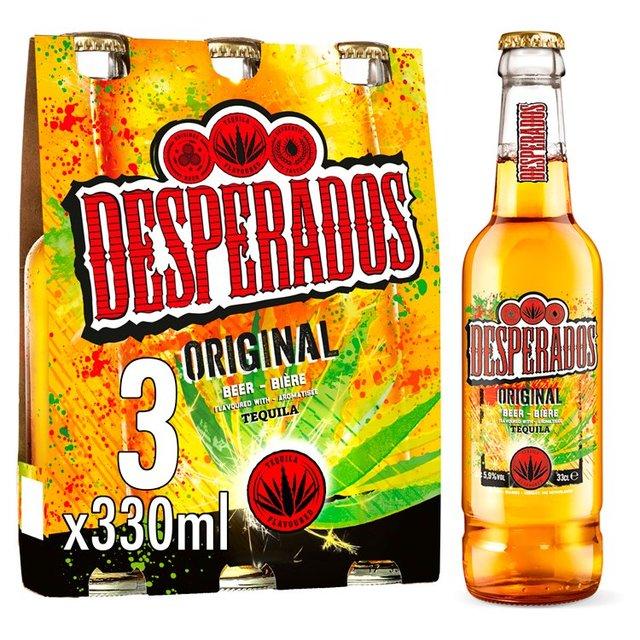 Desperados Tequila Beer Bottles Ocado