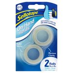 Sellotape On Hand Refills Twin Pack
