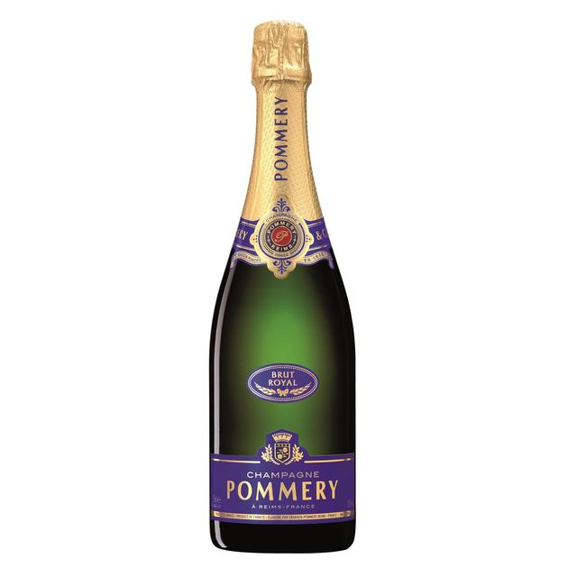 pommery brut royal nv champagne 75cl from ocado. Black Bedroom Furniture Sets. Home Design Ideas