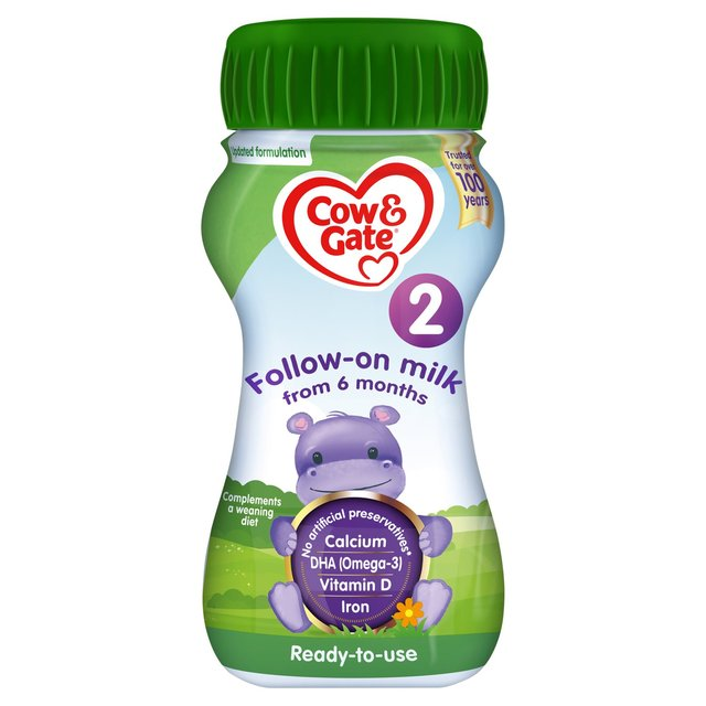 Cow Gate Follow On Milk 200ml From Ocado