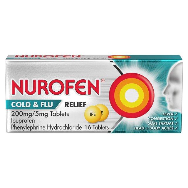 Flu cold tablets